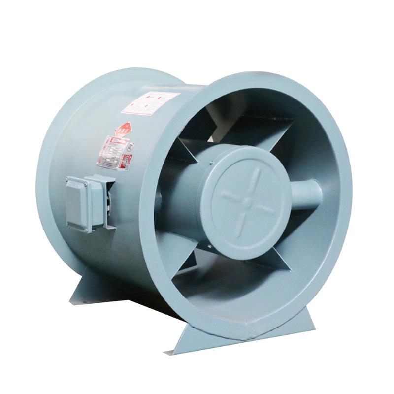 双速排烟风机产生噪音的原因有哪些?