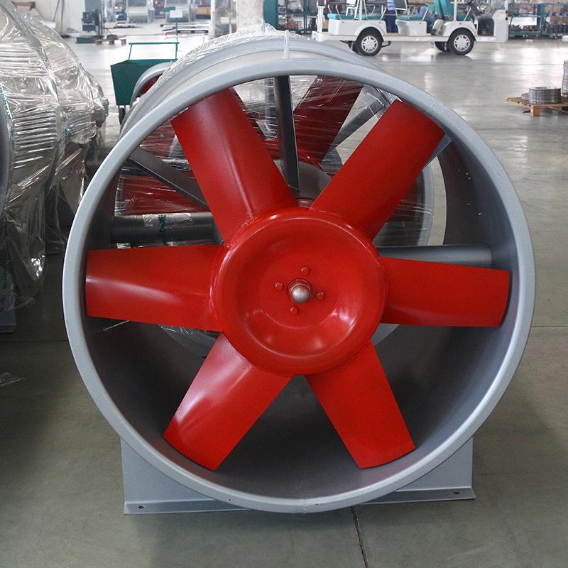 HTF消防排烟风机用扩压器的作用是什么