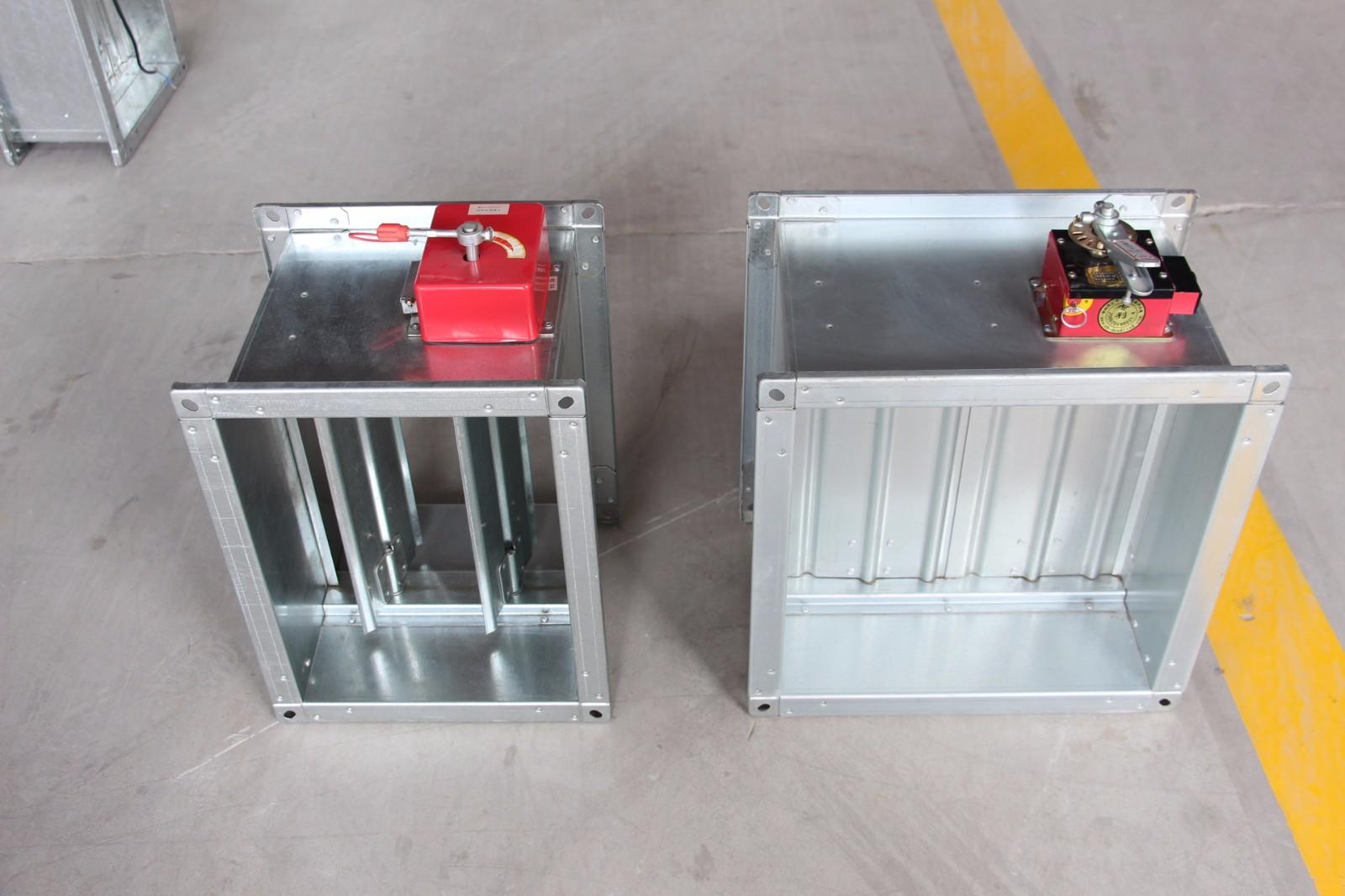金光集团电动风量调节阀 对开多页调节阀 电动风量调节阀