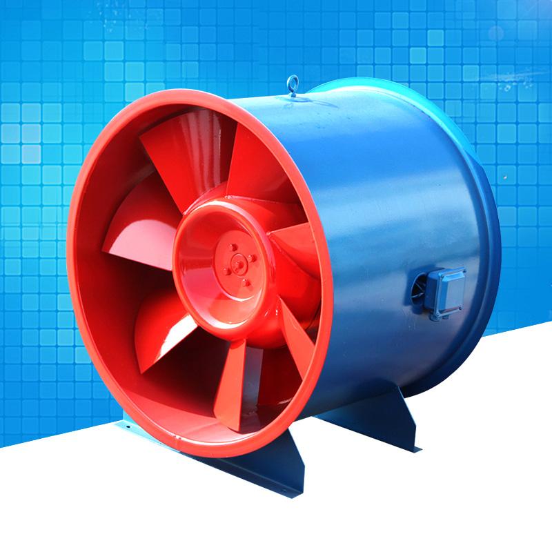 GYF型消防高温排烟风机的安装说明