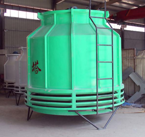 金光玻璃钢500T圆形逆流式冷却塔
