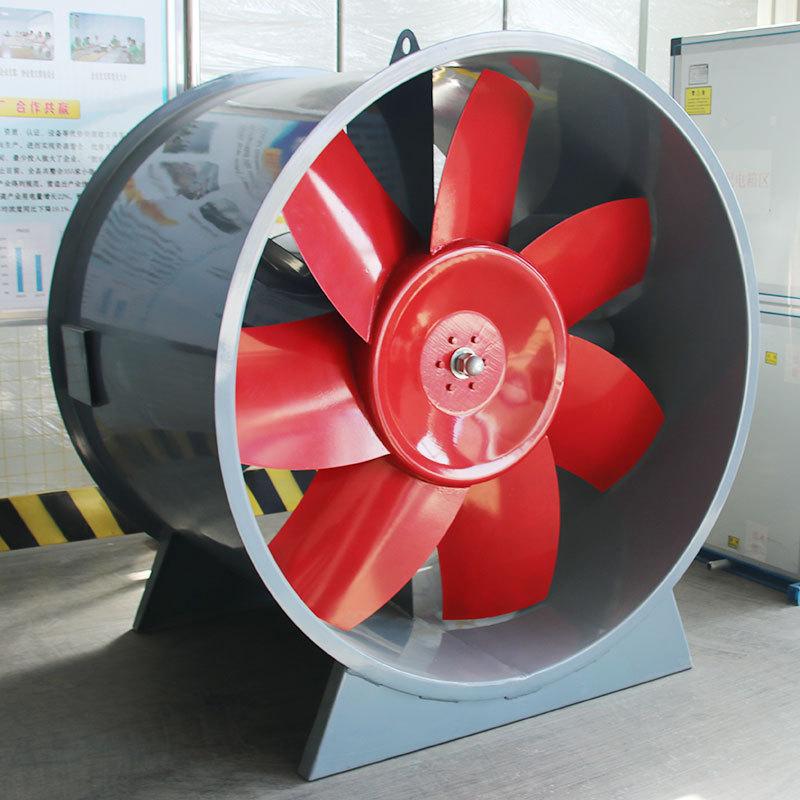 文登抽水蓄能站地面排风机房排风机项目顺利通过厂内验收
